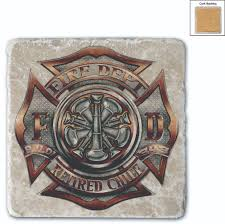 firefighter home decorations firefighter home decor coasters firefighter com