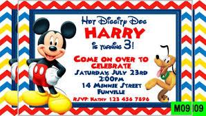 mickey mouse birthday invitation template 44474 linegardmed com