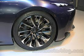 lexus lf fc lexus lf fc concept wheel at the 2015 tokyo motor show indian