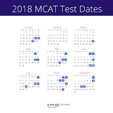when should i take the mcat kaplan test prep