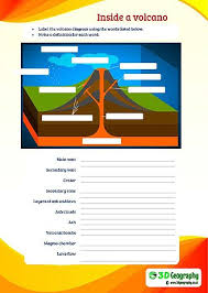 free volcano worksheets for teaching and learning all about volcanoes