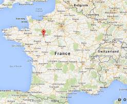 map of le mans where is le mans map world easy guides