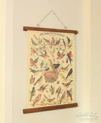 cavallini poster simple vintage poster display white tulip designs