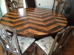 staining a table top simple ikea boxes get a diy chevron stain simple diy and crafts