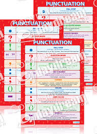 quote marks before comma punctuation english literacy educational posters