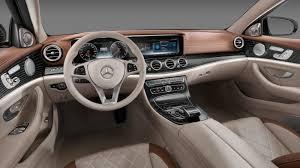 mercedes interior the 2017 mercedes e class interior is the standard w
