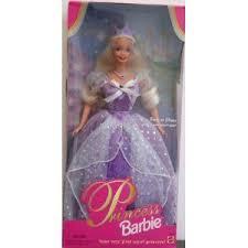 buy 1997 princess barbie purple dress prices
