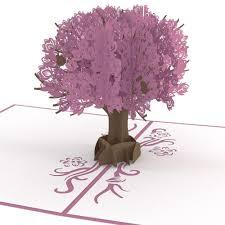 magnolia tree pop up card lovepop