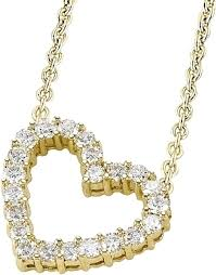 diamond heart gold necklace images 18k yellow gold 1 55ct diamond heart necklace scsn845 png