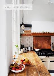 Kitchen Copper Backsplash In The Details Copper Brass In The Kitchen Coco Kelley Coco
