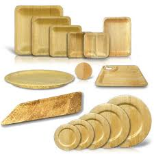 bamboo disposable plates bamboo disposable square plates square plates buffet and wedding