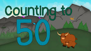 count 1 to 50 u2013 soft music for children u2013 happy relaxing music for