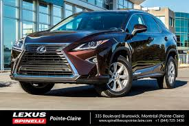 lexus rc awd used 2016 lexus rx 350 awd camera toit ouvrant for sale in