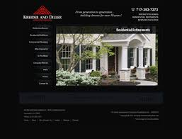 Home Builder Website Design - Home builder design
