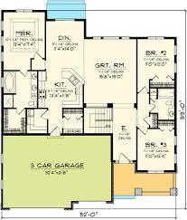 Three Bedroom Ranch Floor Plans Best 25 Ranch Home Designs Ideas On Pinterest Ranch Homes