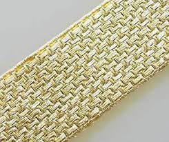 gold lace ribbon 3 yards wide metallic trim gold braid lace ribbon ebay