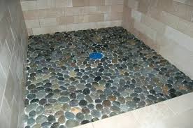 stone shower awesome pebble stone shower floor stone shower cleaner