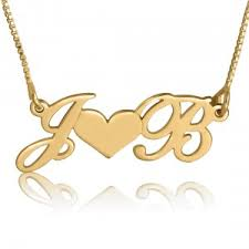 necklaces with initials gold initial necklaces initial necklaces by material initials