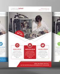 computer repair flyer template free telemontekg me