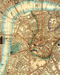 Map Of London England by 1844 Map Of Lambeth North And Waterloo Southwark London The