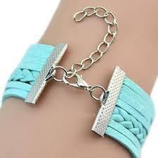 charm bracelet infinity images Vintage handmade infinity owl charm bracelet for women owloveme jpg