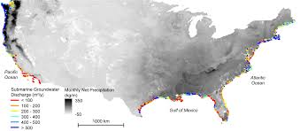 Map Of The East Coast Of Usa by New Study Maps Rate Of New Orleans Sinking Nasa