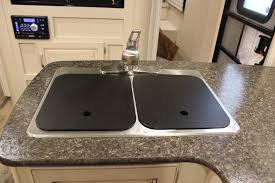 sink covers for more counter space minnie interior features winnebago rvs