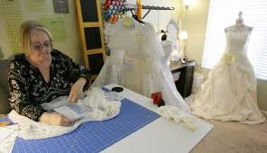 wedding help how donated wedding gowns help comfort grieving parents press