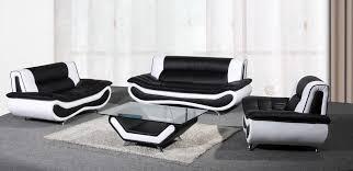 New Leather Sofas Napoli Leather 3 2 Seater Sofa Coffee Table Armchair Black White