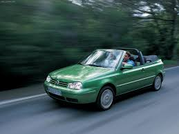 green volkswagen golf volkswagen golf cabriolet 1998 picture 7 of 30