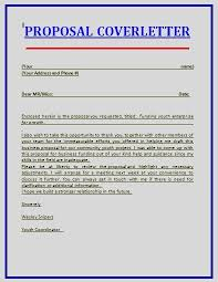 sample of how to write business proposal letter cover with 17