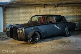 roll royce chinese murdered out rolls royce silver shadow looks out of this world