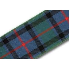 flower of scotland 40mm scottish tartan plaid ribbon x 25m reel
