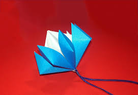 easy origami ornament origami flower bell paper