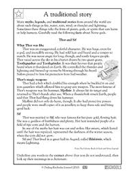 3rd grade reading writing worksheets reading comprehension thor