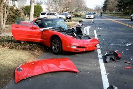 corvette crash c5 corvette destroyed in island crash corvette