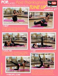 post thanksgiving tune up printable workout for fitness magazine