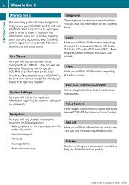 mercedes benz e class 2009 w211 comand manual