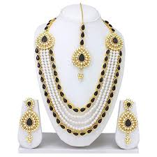 indian bridal necklace sets images Vvs jewellers beautiful kundan indian wedding party jpg
