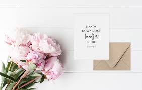 Card From Bride To Groom On Wedding Day Card For Bride On Her Wedding Day Single Wedding Day Card For