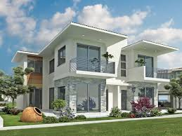 stylish exterior houses layout modern american home exterior