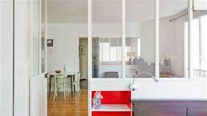 cloison vitree cuisine salon cloison cuisine meuble separation de cuisine en verre cloison