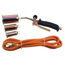 how to light a propane torch portable propane weed torch burner fire starter ice melter melting w