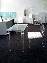 Clear Desk Accessories Acrylic Desk Protector Clear Desk Clear Plastic Desktop Protector