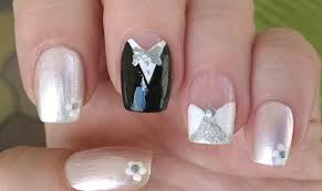 life world women wedding nail art