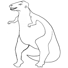 rex coloring pages great cute triceratops dinosaur coloring pages