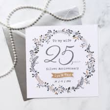 unique personalised anniversary cards oodlique personalised