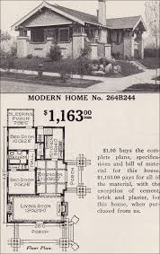 sears homes floor plans modern home 264b244 the osborn japanese influenced craftsman