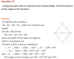 understanding quadrilaterals ncert extra questions for class 8 maths