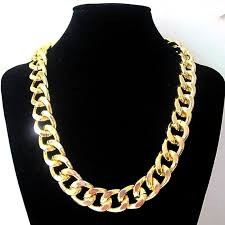big chain necklace fashion images Fashion women jewelry accessories big thick gold metal link chain jpg